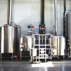 500L Micro Turnkey Craft Beer Brewing Equipment till salu