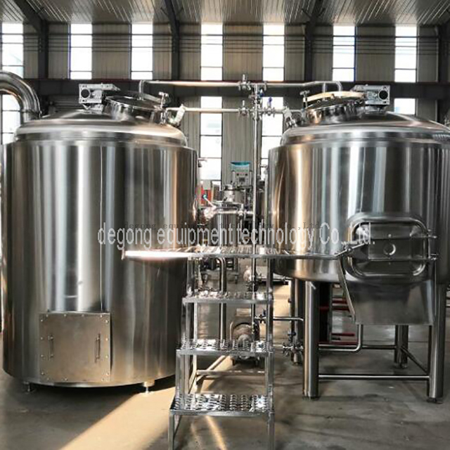 2000L Industrial Automated Steam Steam Heat Steel Steel Brewhouse till salu