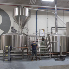 1000L Automated Commercial Steel Beer Brewhouse / Brewery Equipmen till salu